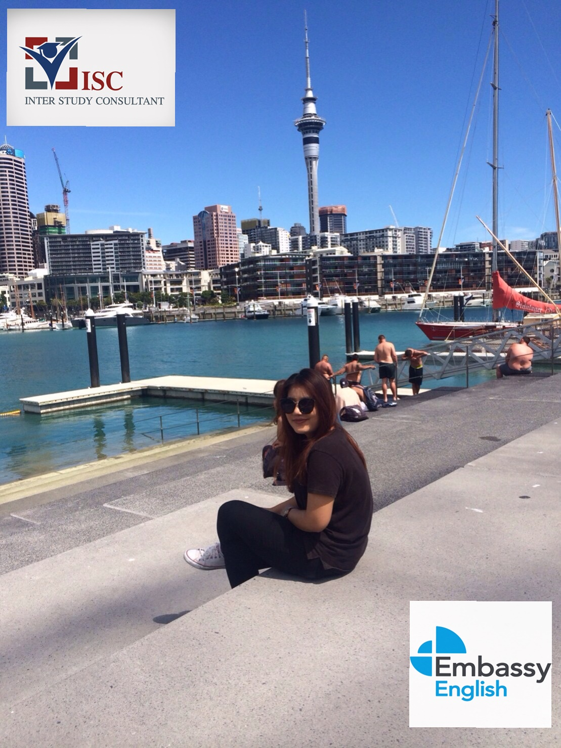 น้องกีต้าร์ Embassy English, Auckland New Zealand